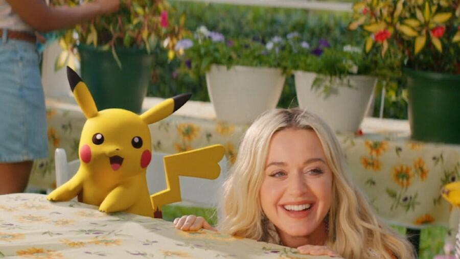 Katy Perry Goes Back In Time (With Pikachu) In Music Video For 'Electric'