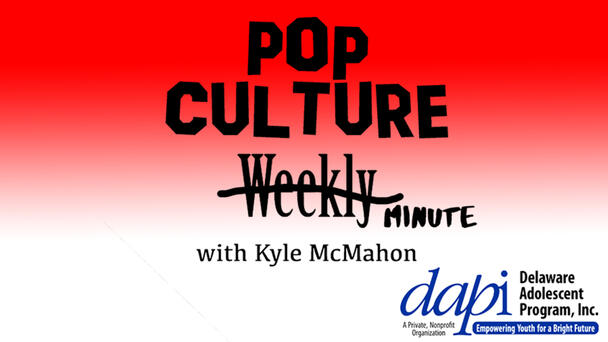 Listen to Pop Culture Minute at 12:10, 4:10, and 8:10!