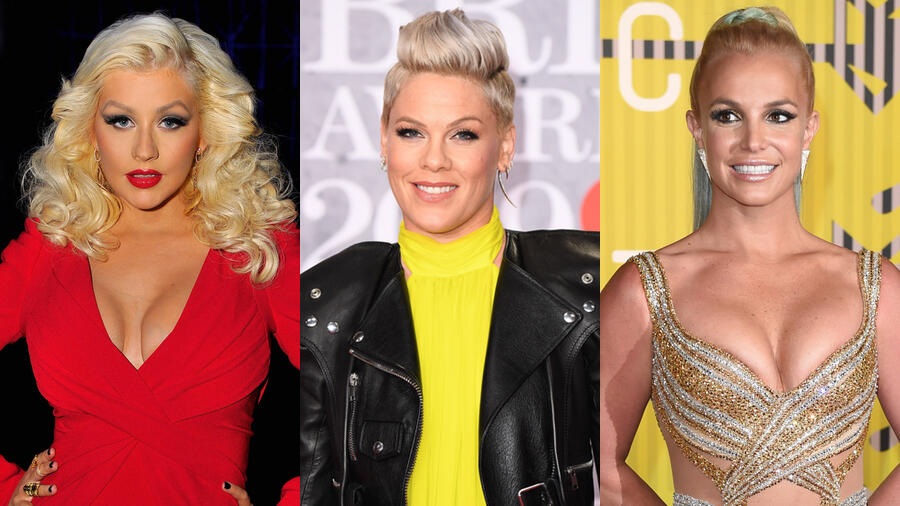 Pink Addresses Rumored Rivalry With Britney Spears & Christina Aguilera