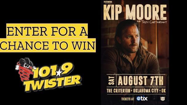 Kip Moore at the Criterion on August 7th