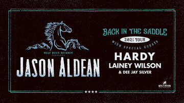 image for Jason Aldean: BACK IN THE SADDLE 2021 Tour