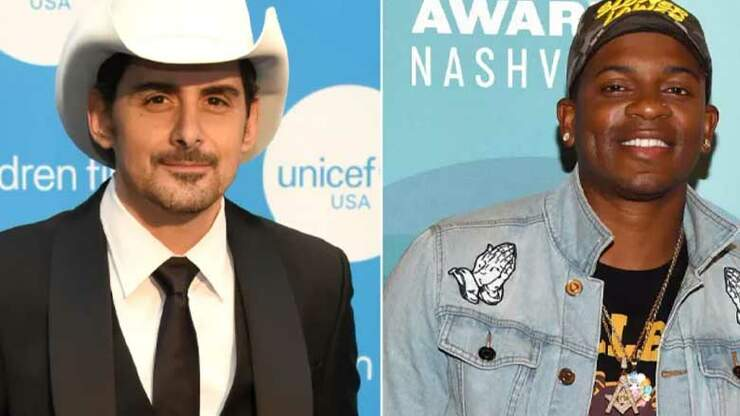 Jimmie Allen Reacts To Joining Brad Paisley On Tour