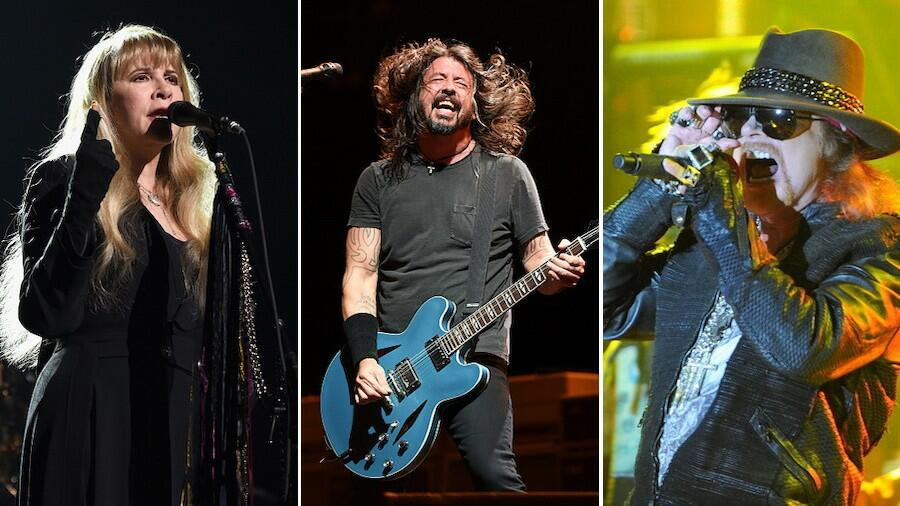 Foo Fighters, Guns N' Roses & Stevie Nicks Set To Headline Bottlerock 2021