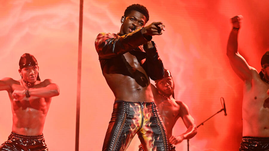 Lil Nas X Suffers Wardrobe Malfunction During 'SNL' Performance