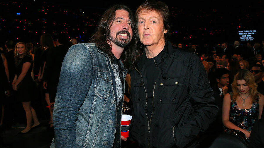 Dave Grohl Recalls The Time Paul McCartney Played Lady Madonna At His House