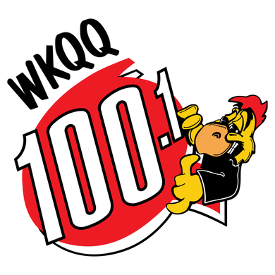 100.1 WKQQ logo