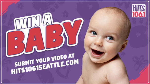 Hits 106.1 Is Giving You The Chance To Win A Baby! Enter Here!