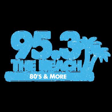 95.3 The Beach logo