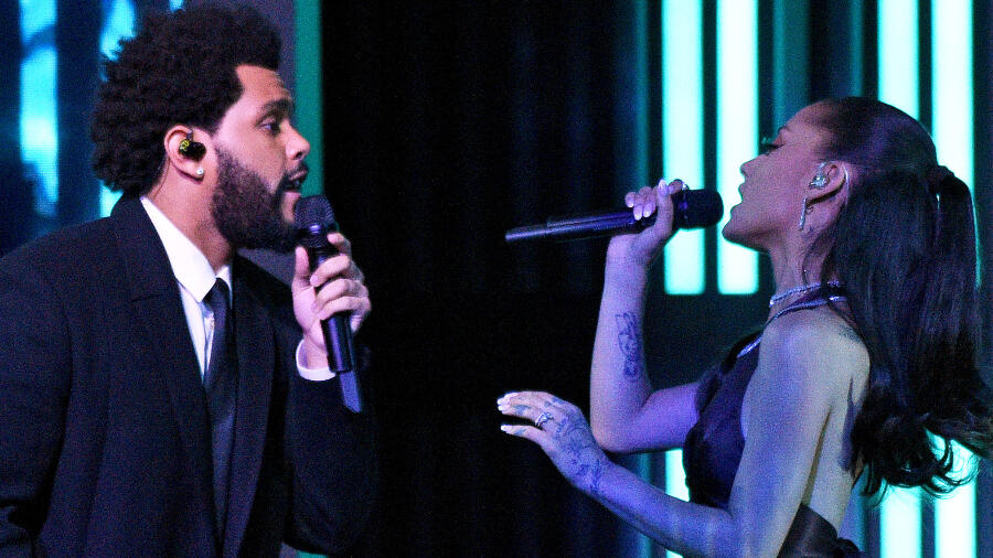 The Weeknd & Ariana Grande Open iHeart Music Awards With Epic Performance