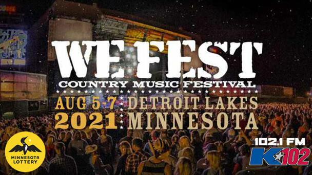 Listen All Week For Your Shot At WE Fest Tickets Powered By Minnesota Lottery