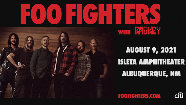 Foo Fighters Are Hitting Isleta Amphitheater! Tickets Are Going Fast!