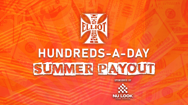 Listen to Elliot in the Morning All Week at 7:30AM and 9:00AM to Win $100! Presented by Nu Look Home Design