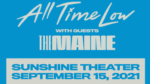 All Time Low with The Maine At The Sunshine Theater!
