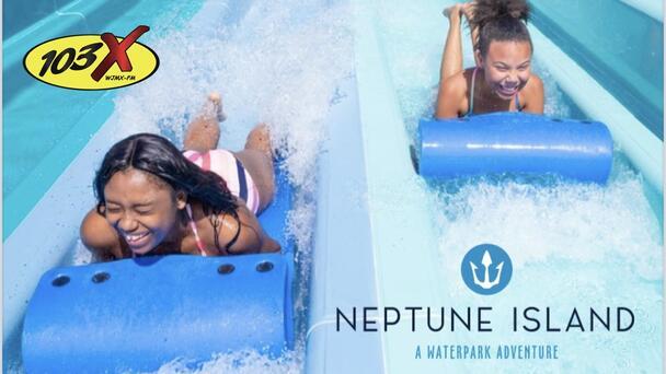 Win 6 tickets and cabana at Neptune Island Waterpark