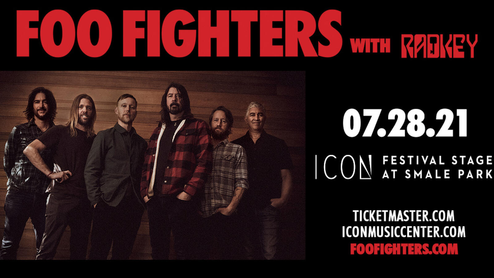 Foo Fighters at Icon Festival Stage!