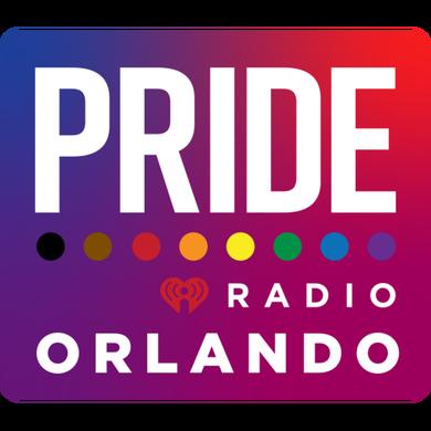 PRIDE Radio Orlando logo