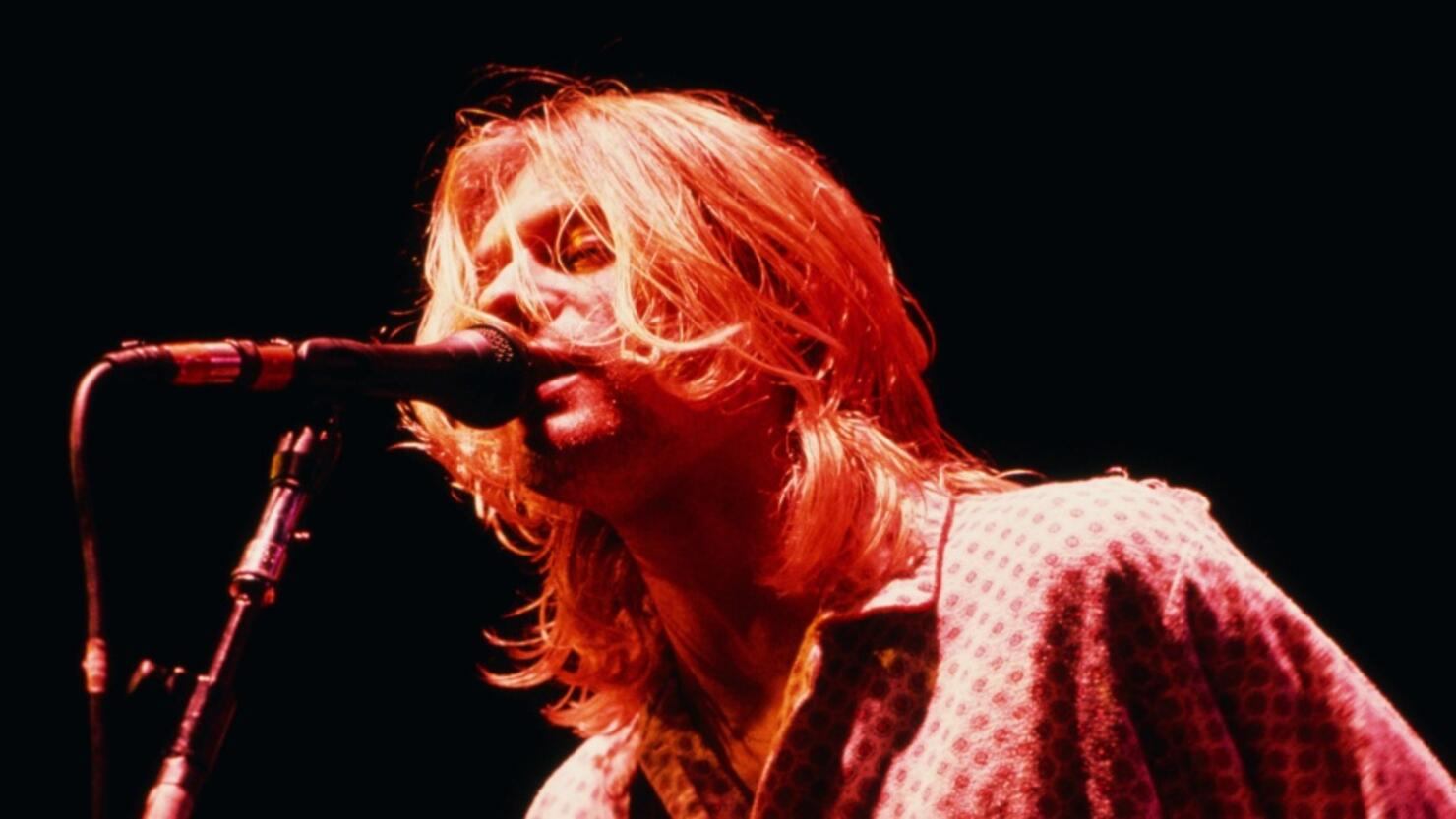 Cobain On Stage