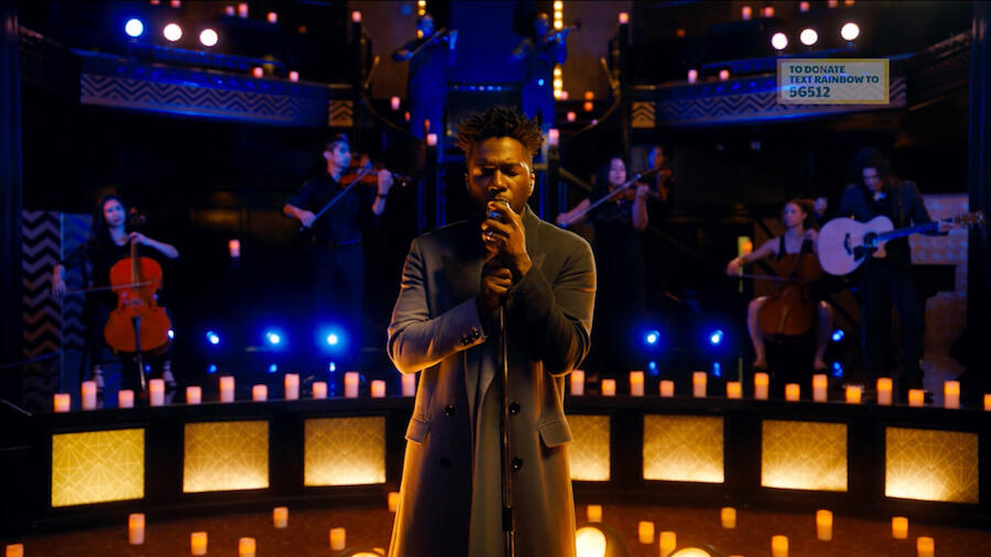 Leslie Odom Jr. Tributes LGBTQ+ Lives Lost In 'Without You' Performance