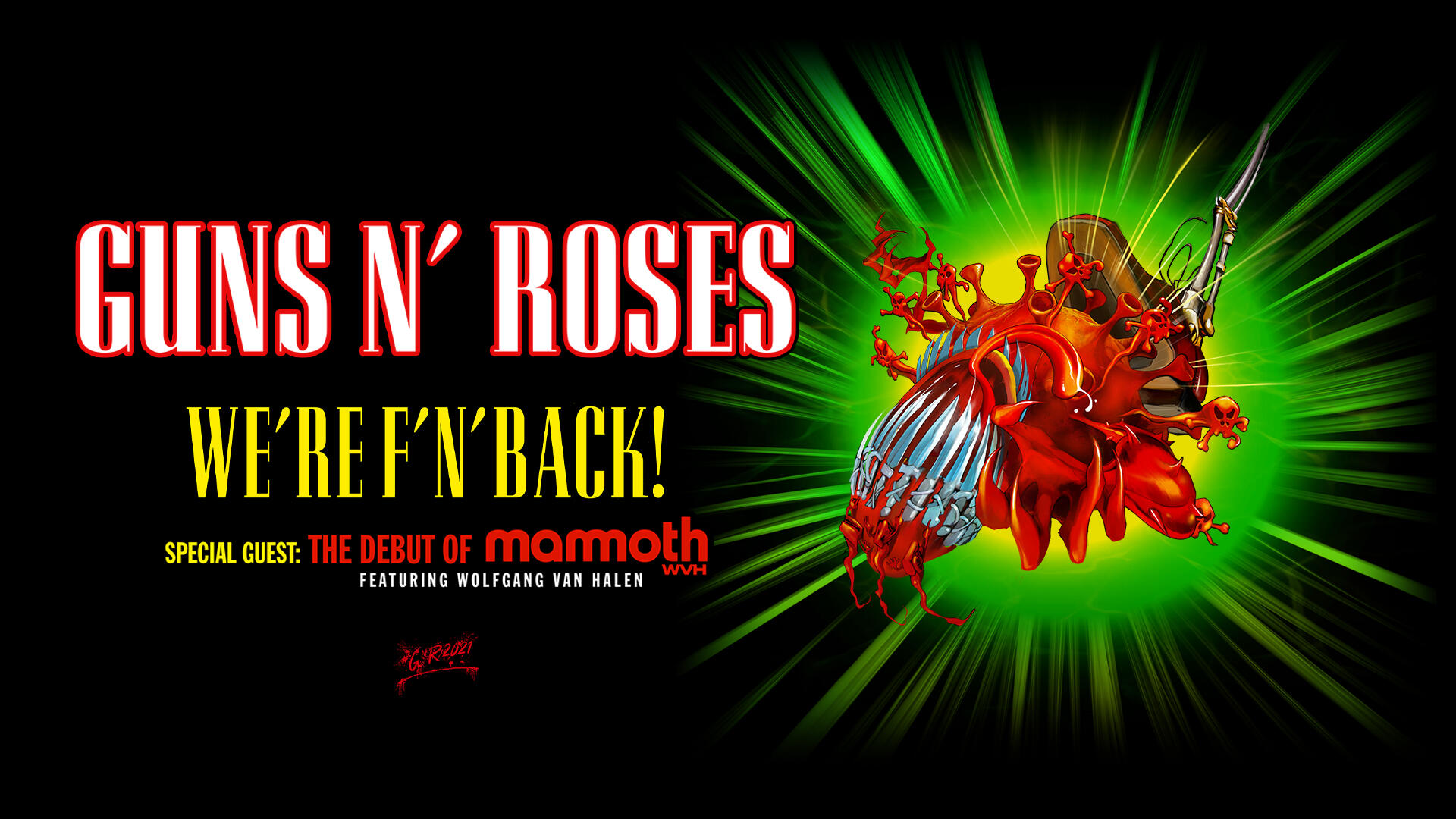 Guns N' Roses 'We're F'N Back!' Tour Coming To MetLife Stadium August 5