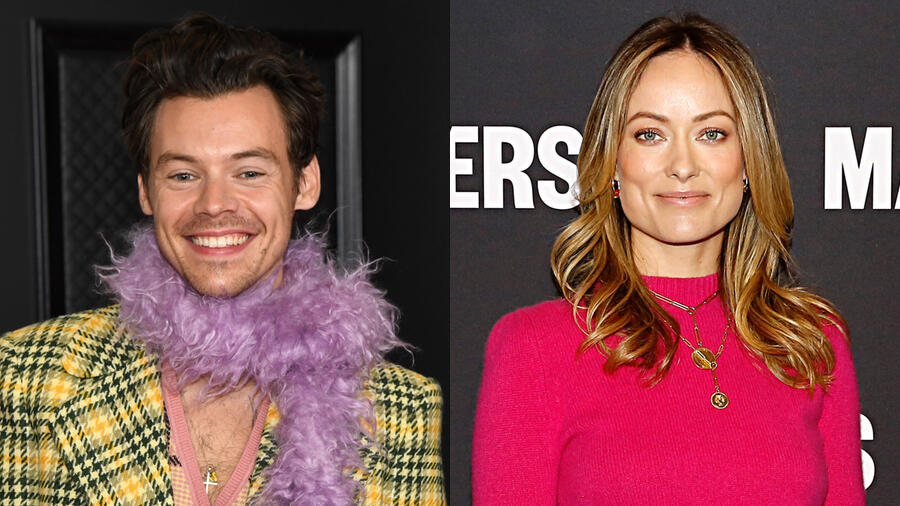 Harry Styles, Olivia Wilde Make Rare Sighting In Romantic Lunch Date Photo
