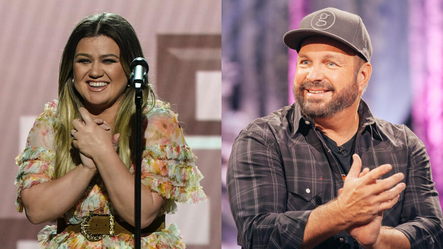 Garth Brooks Nearly Cries Watching Kelly Clarkson Cover 'The Dance'