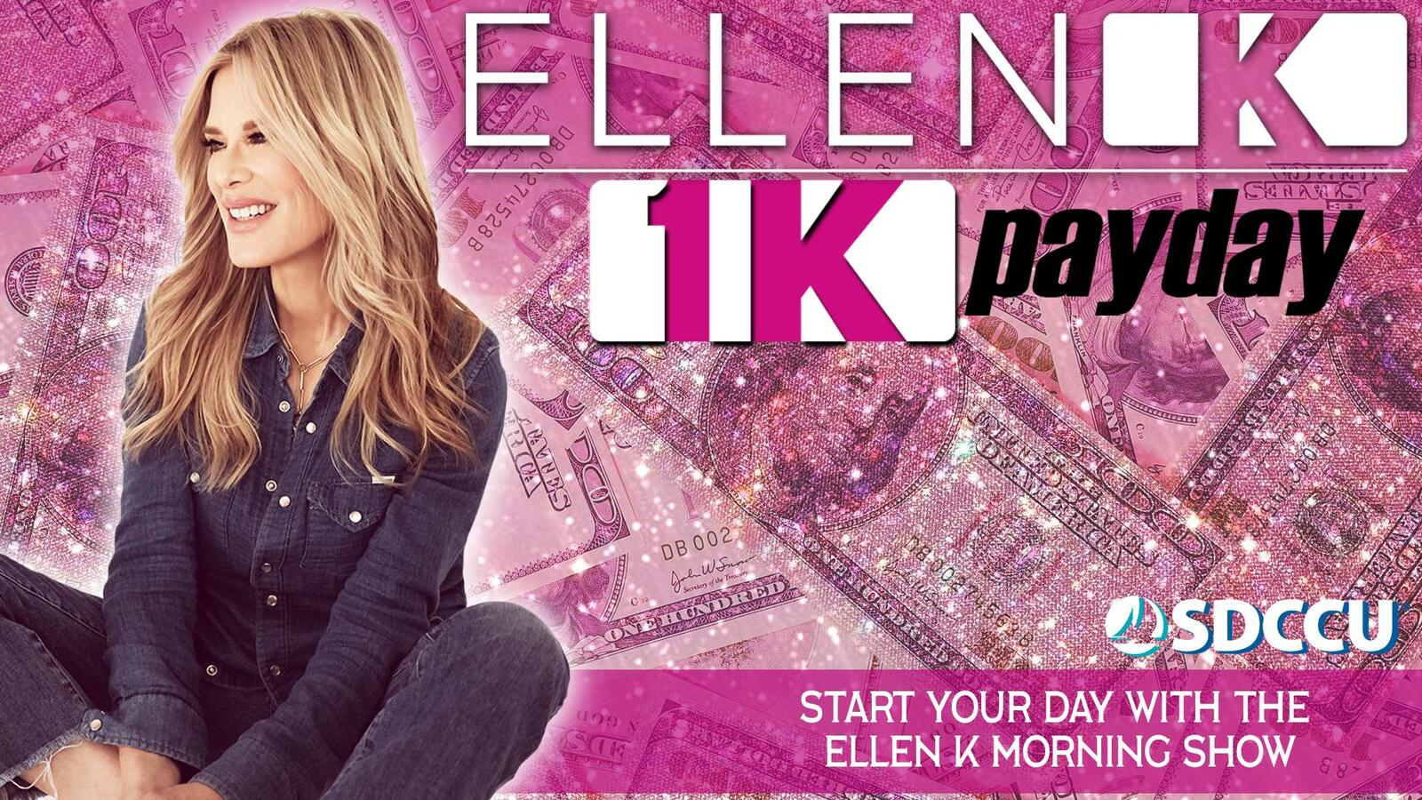 Here's The Ellen K $1K Payday Song of the Day!