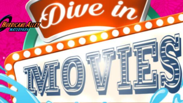 Hurricane Alley Waterpark Summer Dive In Movies