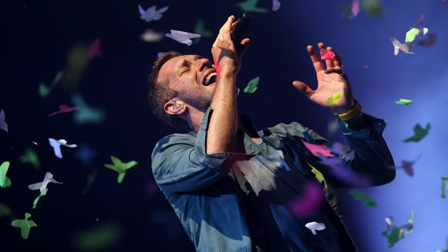 VIDEO: Chris Martin Discusses The Making Of New Song 'Higher Power'