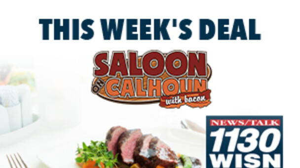 Dine 4 Less at Saloon on Calhoun with Bacon!