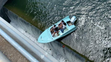 image for WATCH: Heart-Stopping Video Shows Boat Teetering Over The Edge Of A Dam