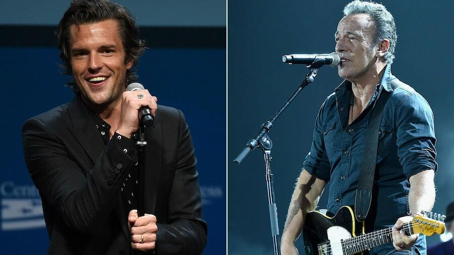 The Killers Tease Bruce Springsteen Collaboration