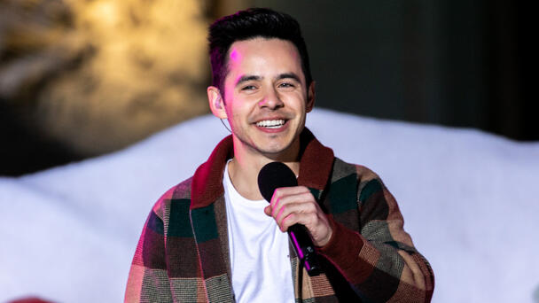 'American Idol's David ArchuletaComes Out As Part Of The LGBTQ Community