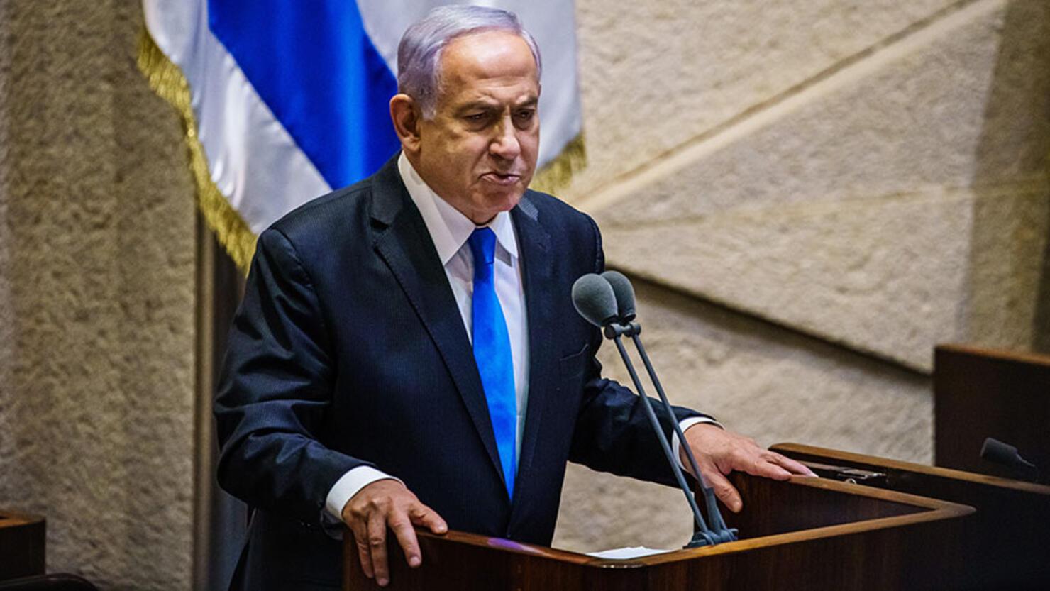 ISRAEL PM BENJAMIN NETANYAHU VOTED OUT