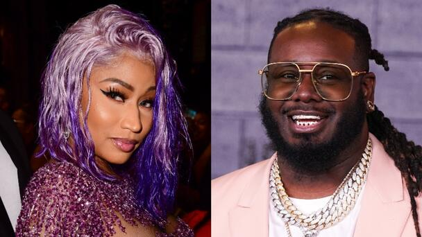Nicki Minaj Responds To T-Pain Saying She Turned Down His Collab Offer