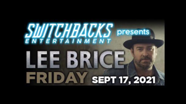 Lee Brice at Weidner Field!
