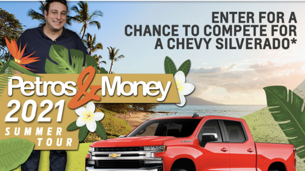 Enter For Your Chance To Win A BRAND NEW Chevrolet Silverado!