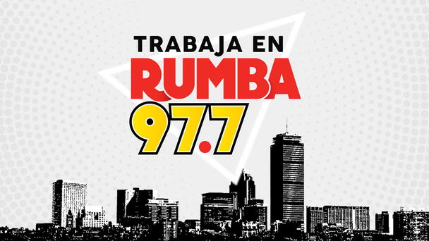 ¿Quieres trabajar en Rumba 97.7?