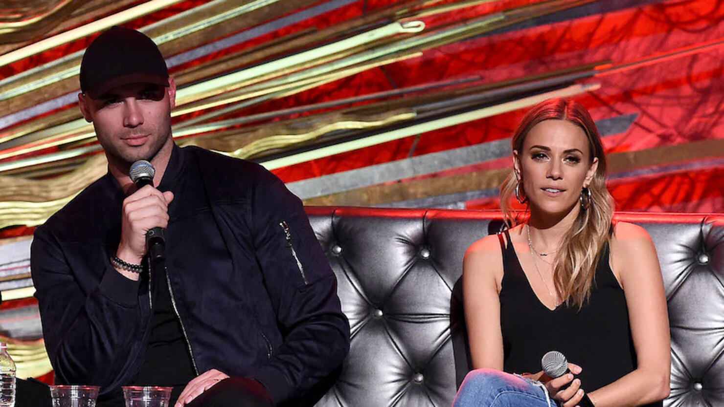 Whine Down With Jana Kramer And Mike Caussin - New York, NY