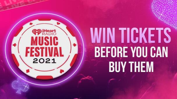 Listen For Your Chance To Win Tickets To Our iHeartRadio Music Festival!