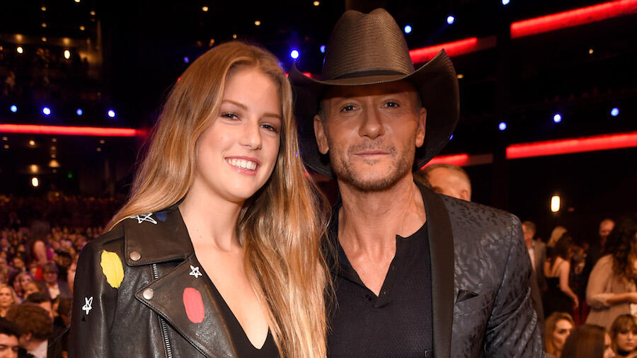 Tim McGraw Gushes As Daughter Maggie Graduates With Master's Degree: Photos