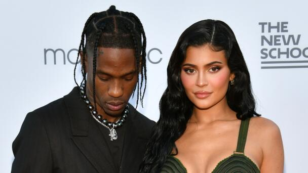 Travis Scott Gushes Over 'Wifey' Kylie Jenner At NYC Gala With Stormi