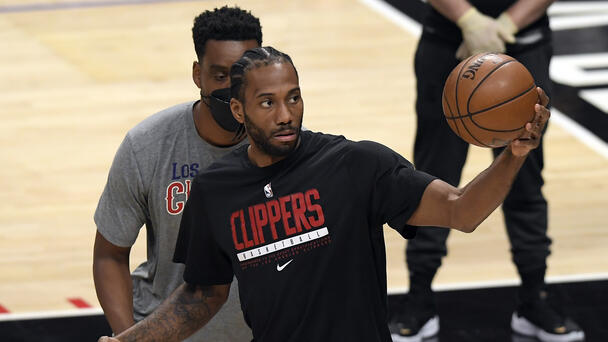 Kawhi Leonard Could Miss Rest Of Series Vs. Jazz With Injury