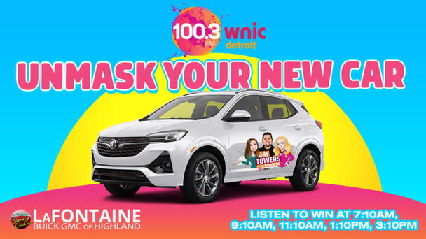 Unmask Your New Car with 100.3 WNIC