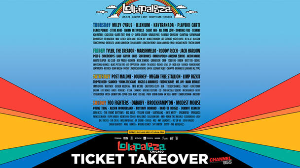 Lollapalooza Ticket Takeover