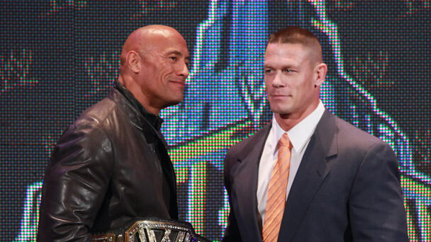 Top WWE Star Addresses Rumors Of Future Matches Against The Rock, John Cena