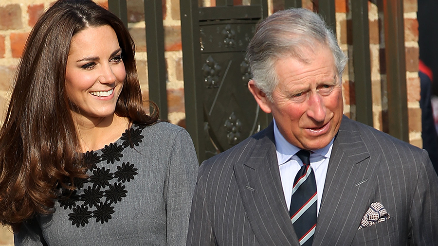 How Kate Middleton Broke Royal Protocol While Greeting Prince Charles   iHeartRadio