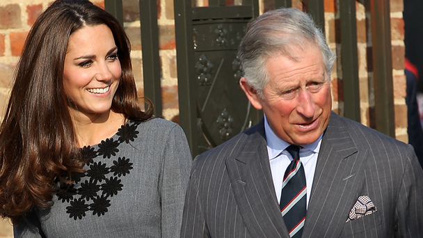 How Kate Middleton Broke Royal Protocol While Greeting Prince Charles