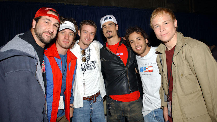 Backstreet Boys & *NSYNC Members Join Forces For 'Back-SYNC'