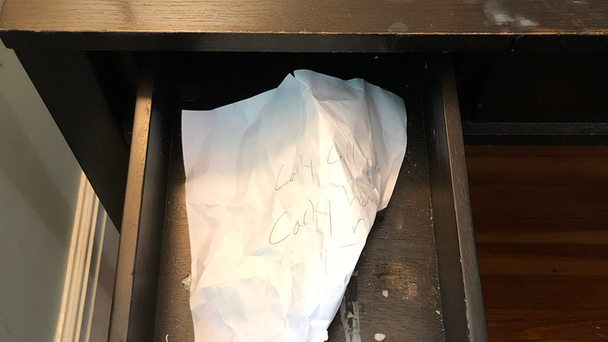 Eerie Note Woman Found In Thrift Store Nightstand Will Give You Goosebumps