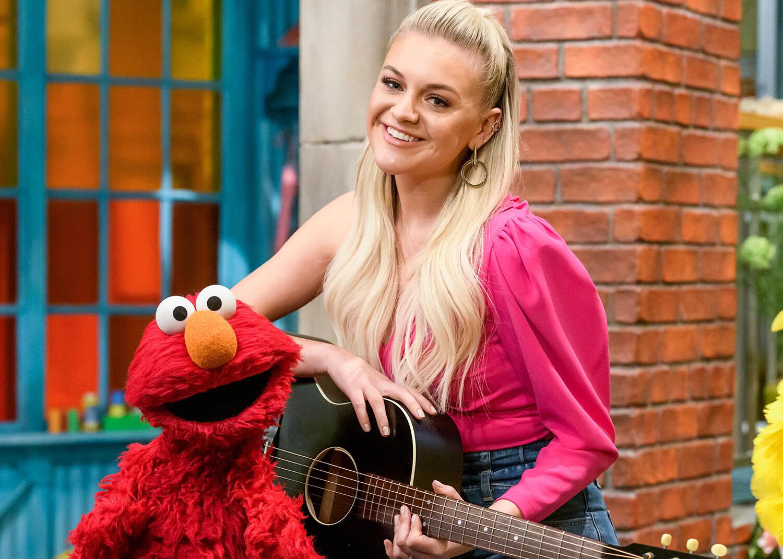 Kelsea Ballerini Singsalong With Elmo During Her Sesame Street Debut | iHeartRadio